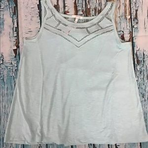 Maurices Sleeveless Pieced Mesh Top